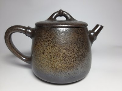 紫砂壺~柴燒高石瓢/段泥