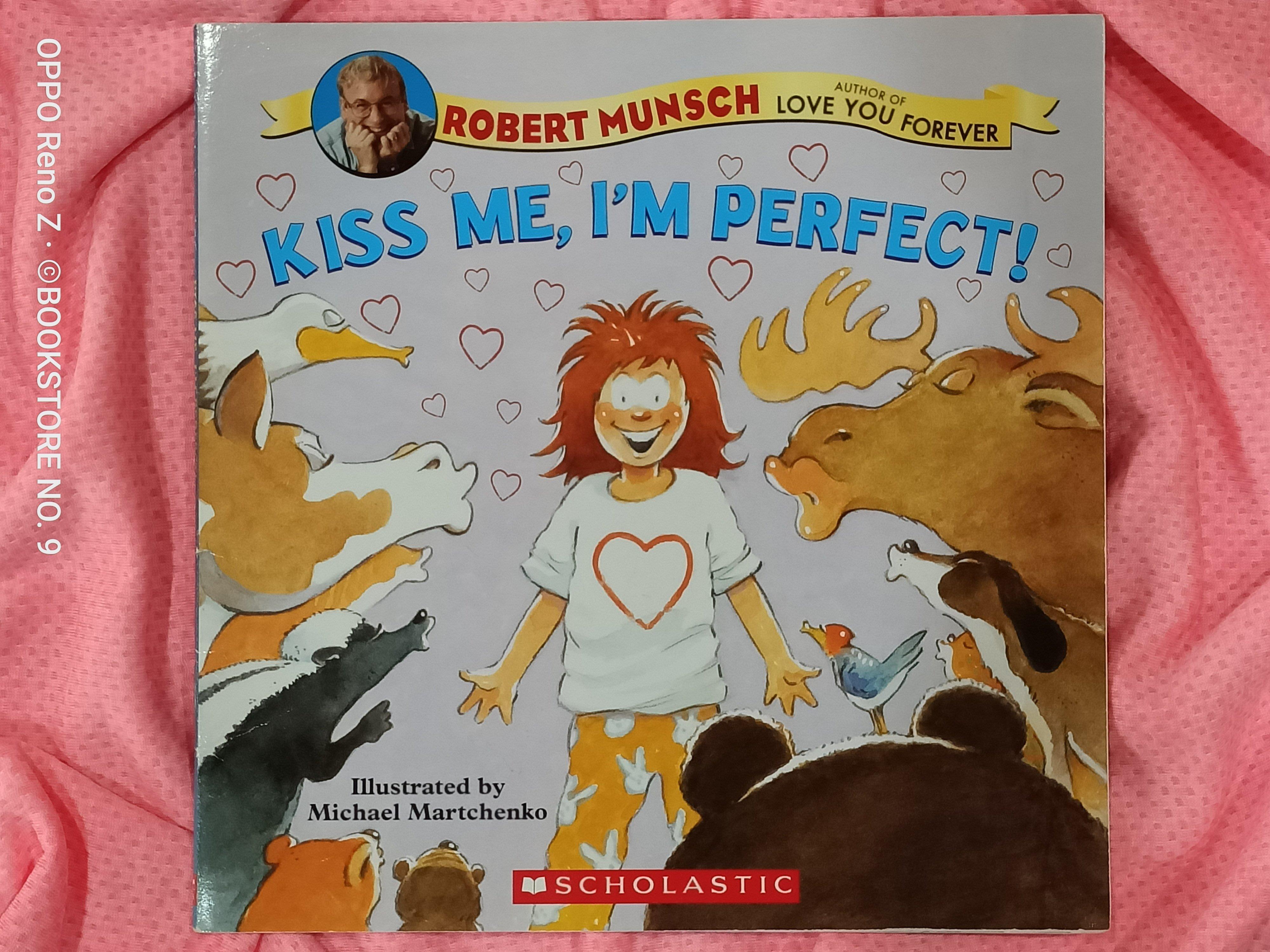 *NO.9 九號書店* KISS ME, IM PERFECT! 英文繪本童書 SCHOLASTIC