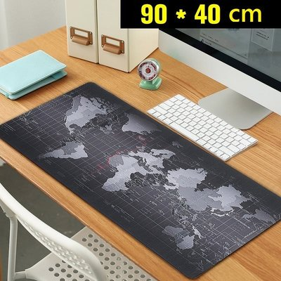 世界地圖滑鼠墊 加大 大號 電競滑鼠墊 鍵盤墊 桌墊 布幔 壁掛墊 鼠標墊 地圖壁飾