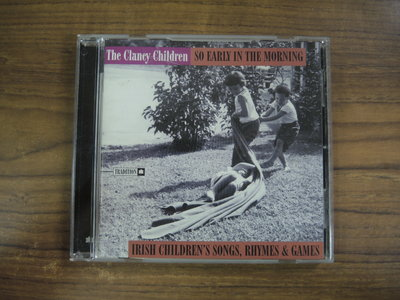 ◎MWM◎【二手CD】The Clancy Children-So Early In The Morning 介紹摺頁