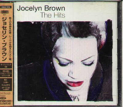 K - Jocelyn Brown - The Hits - 日版 +OBI Todd Terry Da Mob