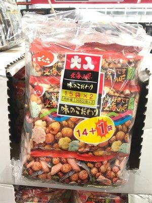 Costco好市多 DENROKU 傳六 什錦豆 730g (30包) 好味餅 北海之味綜合豆餅 什錦綜合豆