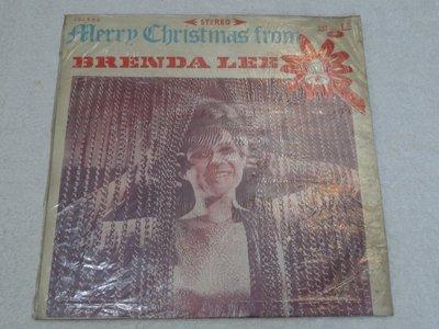 中聲黑膠唱片~BRENDA LEE~MERRY CHRISTMAS FROM~WHITE CHRISTMAS