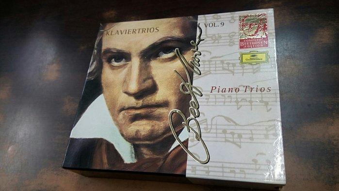 好音悅 半銀圈 Szeryng Fournier Kempff 美藝三重奏 貝多芬 鋼琴三重奏全集 5CD DG 德版