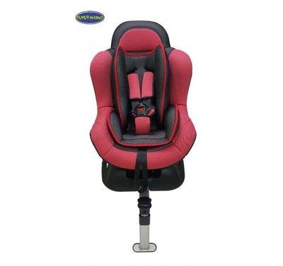 【Super Nanny】 DS-610S超級奶媽五點式固定兒童汽車安全座椅/法拉利紅幼童汽車安全座椅