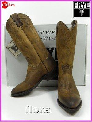 Frye Billy Pull On-西部中長靴-洗舊咖啡色-現貨SZ9.5..8300含國際運費囉!