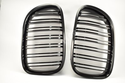 GRILLES for F01-F03 M.LOOK 08-15 STYLE SHINY BLACK 水箱罩黑烤漆