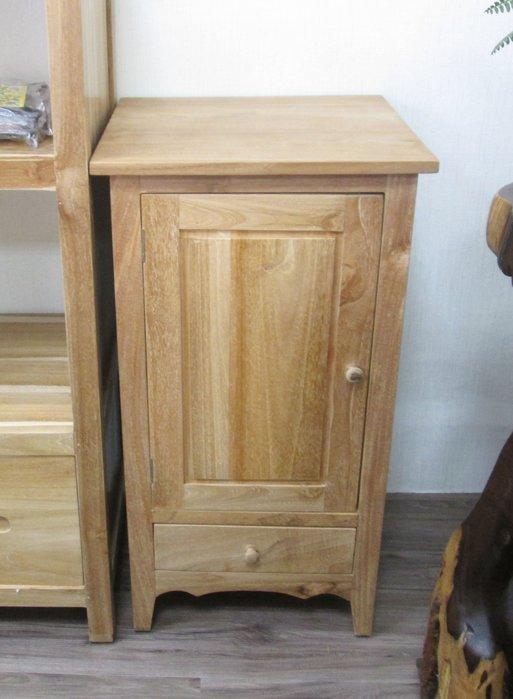 【肯萊柚木傢俱館】100%老柚木無上漆全實木 手工製作 收納櫃 邊櫃  限量商品