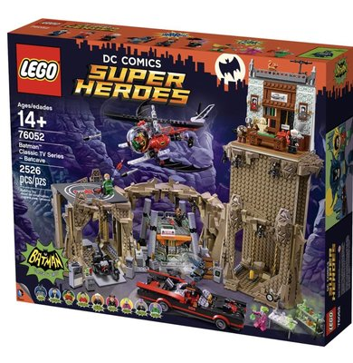 Lego Batman 76052 Batman Classic TV Series Batcave 2526 pcs