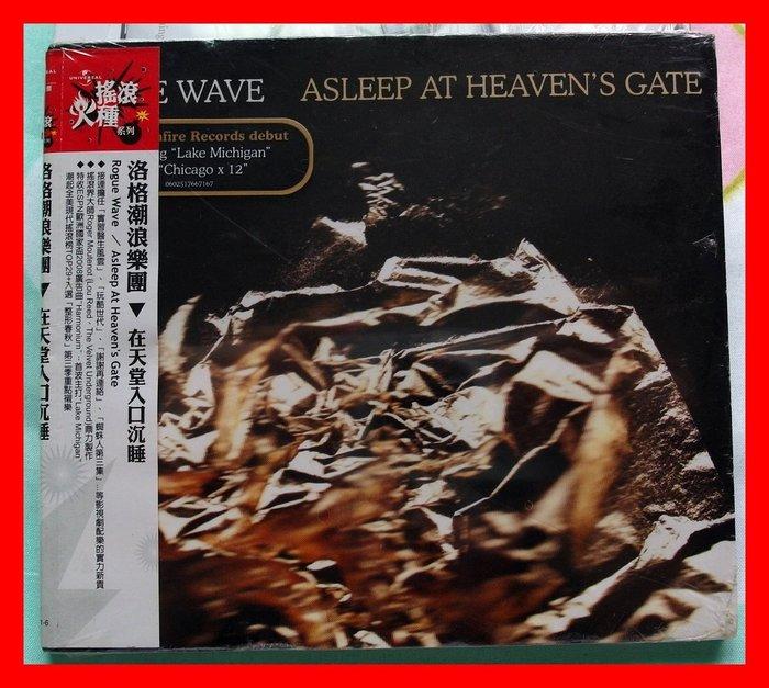 ~2011 版CD未拆!洛格潮浪樂團~在天堂入口沉睡~專輯~Rogue Wave~Asle