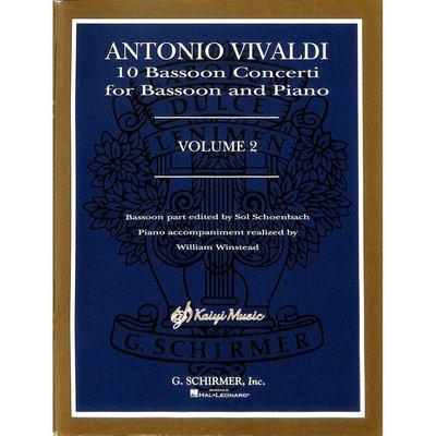 Kaiyi Music ♫Kaiyi Music♫Antonio vivaldi 10 bassoon vol 2