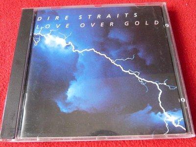 ⊙西洋原版⊙Dire Straits:Love Over Gold/西德銀圈無字版藍漩渦首版/TAS/無ifpi