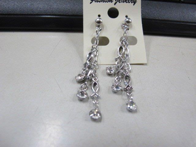二手舖 NO.4467 時尚造型耳環 耳針 耳鉤 便宜賣 首飾飾品