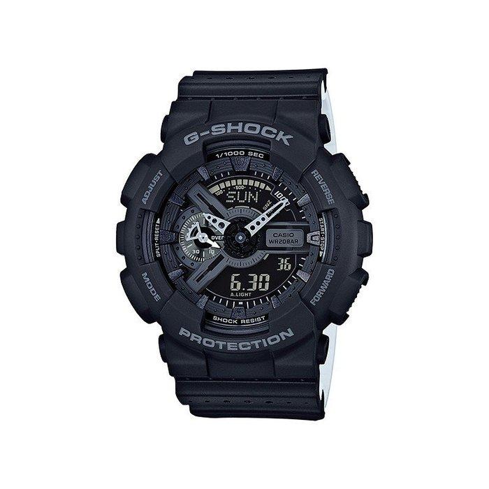 【錶飾精品】卡西歐CASIO GA-110LP-1A 黑G-SHOCK時尚運動風 網眼透氣錶帶 全新原廠正品 生日禮品