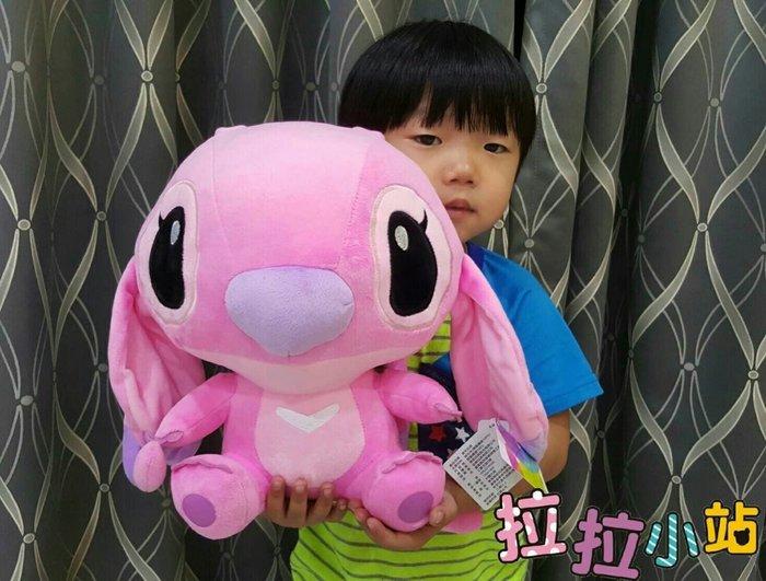 粉色史迪奇娃娃~正版迪士尼卡通~星際寶貝~史迪奇女朋友~高約35公分~熱門商品
